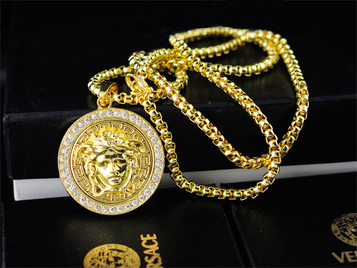 Versace necklace cheap Brand Jewelries Pinterest Versace