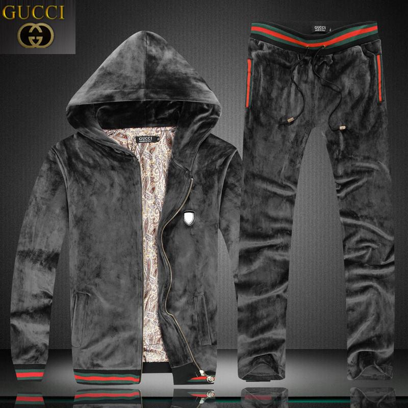 7211fa88257 Cheap Gucci Tracksuits Rebellious cool black - Replica Handbags ...